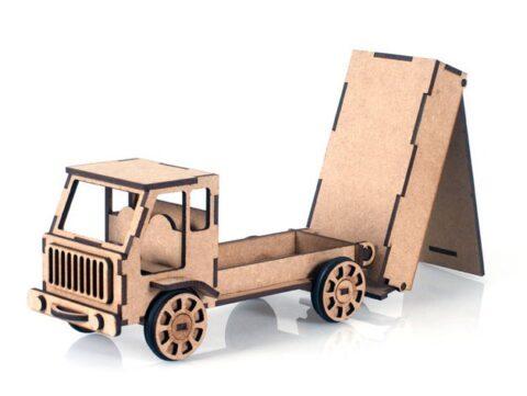 Truck Toy Model Free CDR Vectors Art