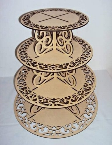 Cupcake Tower Free CDR Vectors Art