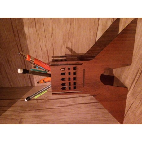 Laser Cut Pencil Holder Template Free CDR Vectors Art