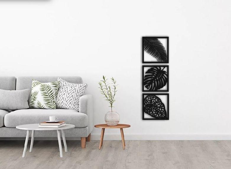Laser Cut Floral Design Frames Home Wall Decor Free DXF File