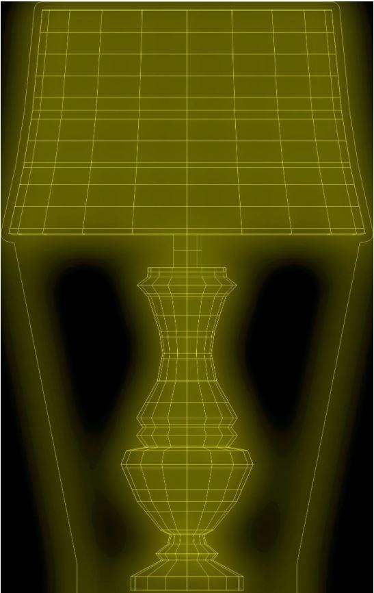 Laser Cut Desk Lamp Acrylic Night Light Template Free CDR Vectors Art