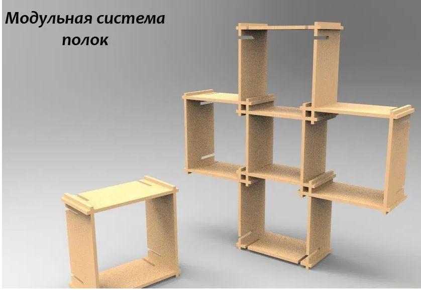 Layout Modular Shelf Free CDR Vectors Art