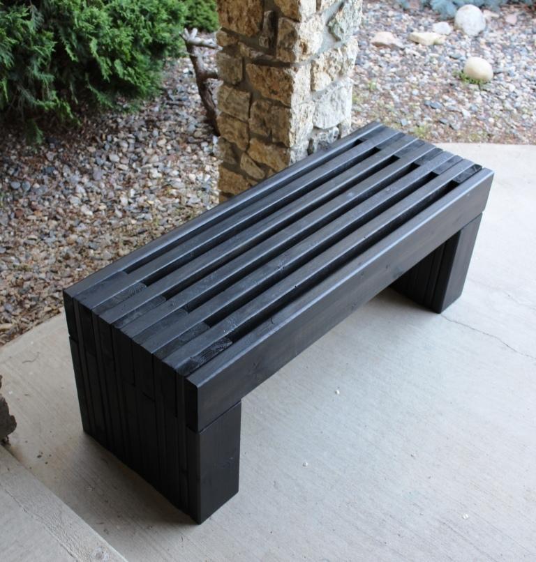 Garden Bench Plans Free PDF File