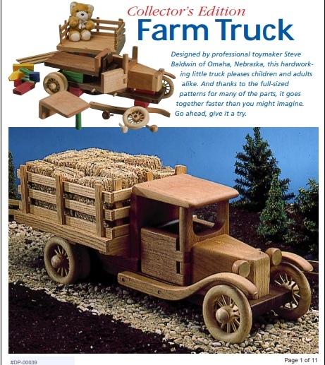 Farm Truck Plans Free PDF File