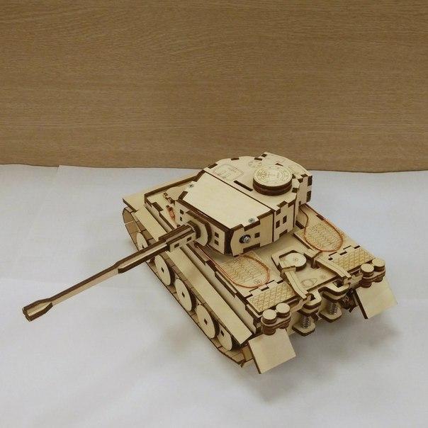 Tank Pz Kpfw Laser Cut Free PDF File