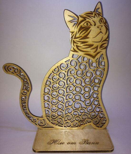 Laser Cut Cat Layout Free CDR Vectors Art