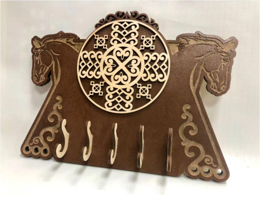 Laser Cut Horse Housekeeper Free CDR Vectors Art