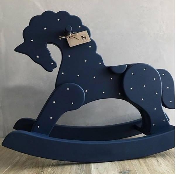 Laser Cut Rocking Horse Free CDR Vectors Art