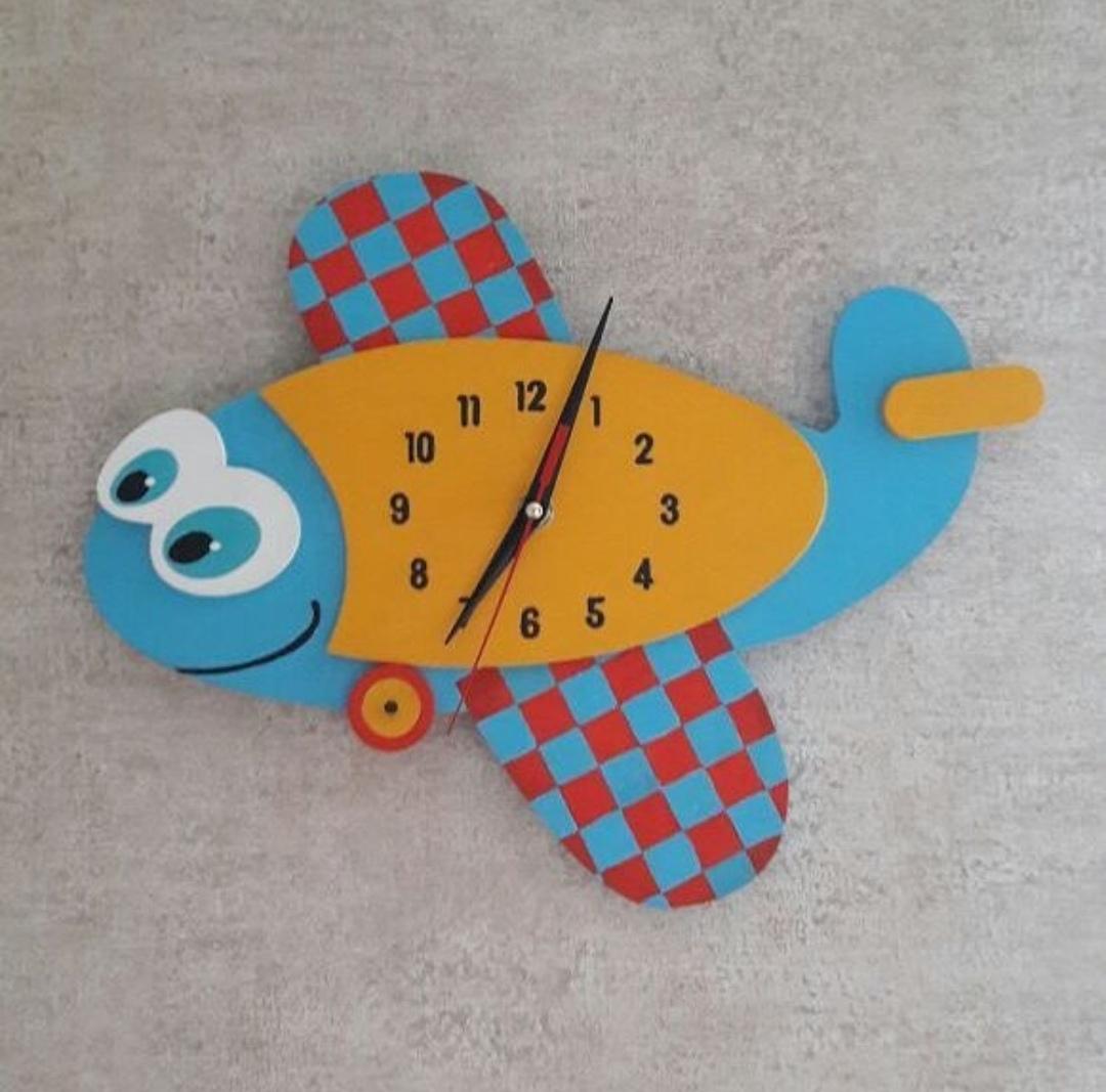 Laser Cut Fish Shaped Wall Clock Vector Free CDR Vectors Art