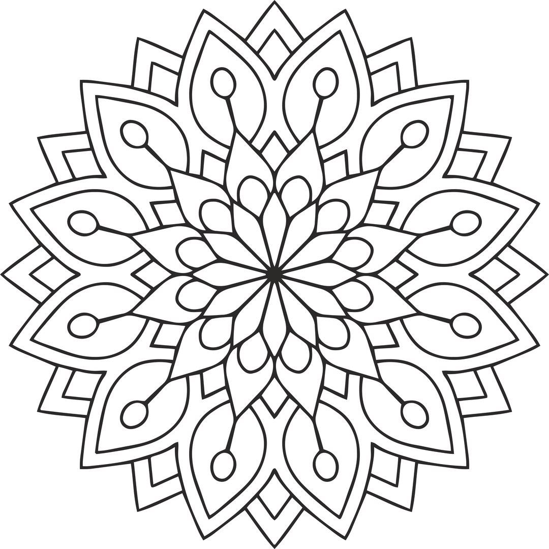 Laser Cut Mandala Circular Ornament Vectors Free CDR Vectors Art