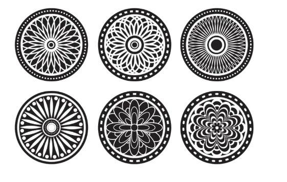 Laser Cut Mandala Ornaments Cool Cnc Project Free CDR Vectors Art