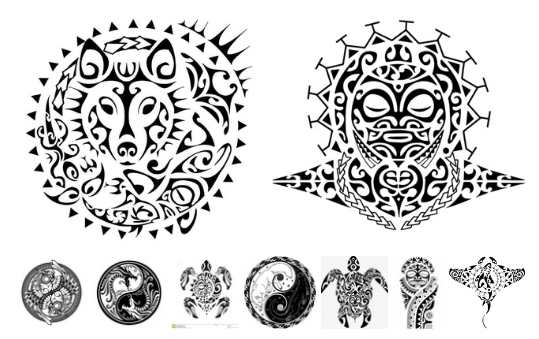 Laser Cut Maori Patterns Free CDR Vectors Art