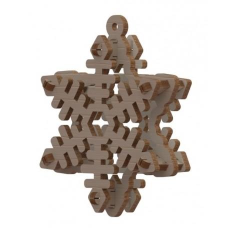 Laser Cut Snowflake Free CDR Vectors Art
