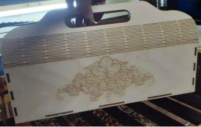 Wood Flower Box Ideas For Laser Cutting Vectors Free CDR Vectors Art