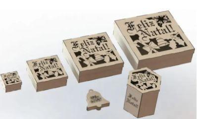 Wooden Box Template Laser Cut Vectors Free CDR Vectors Art