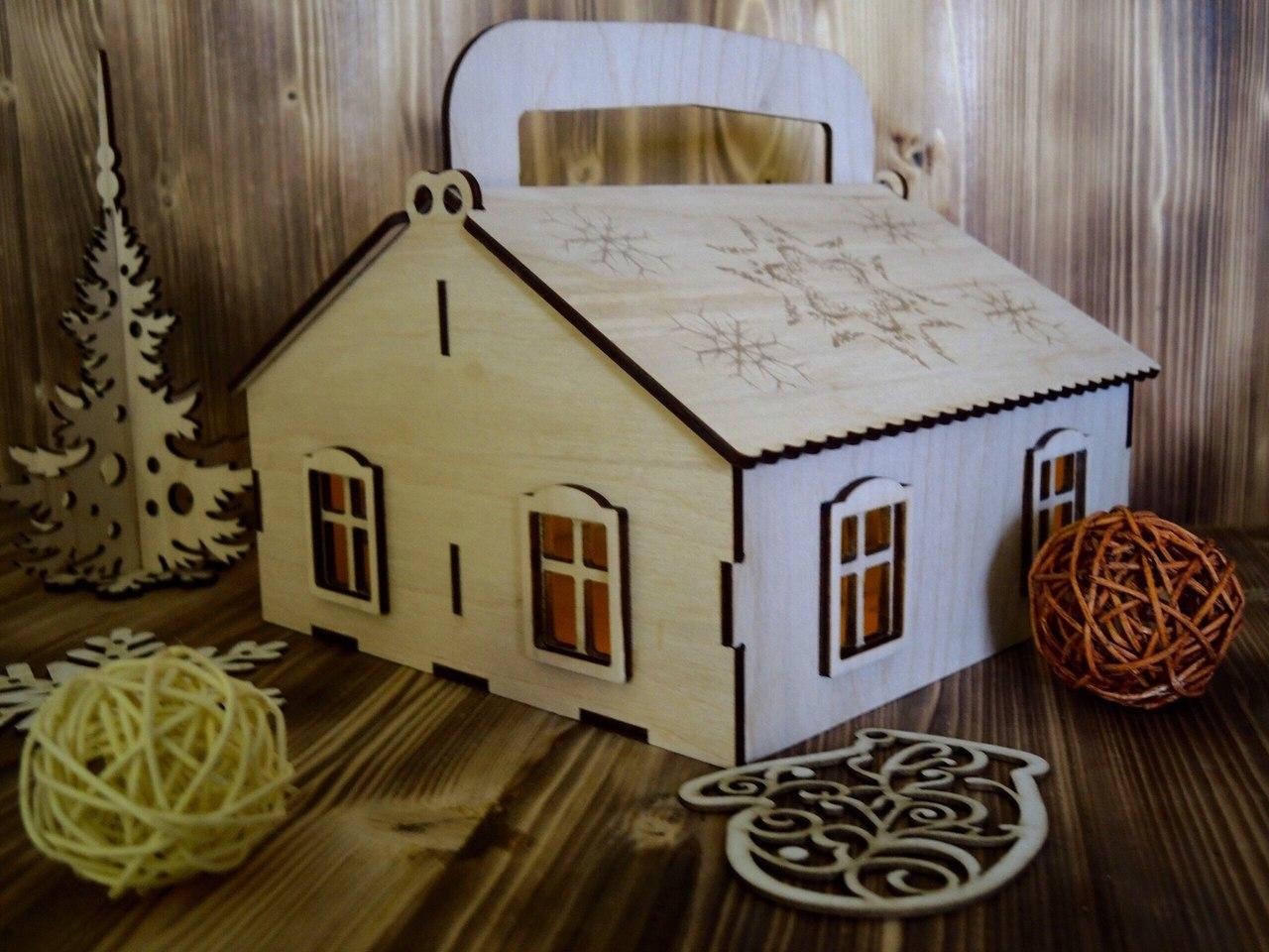 Laser Cut Plywood House Vector Free CDR Vectors Art
