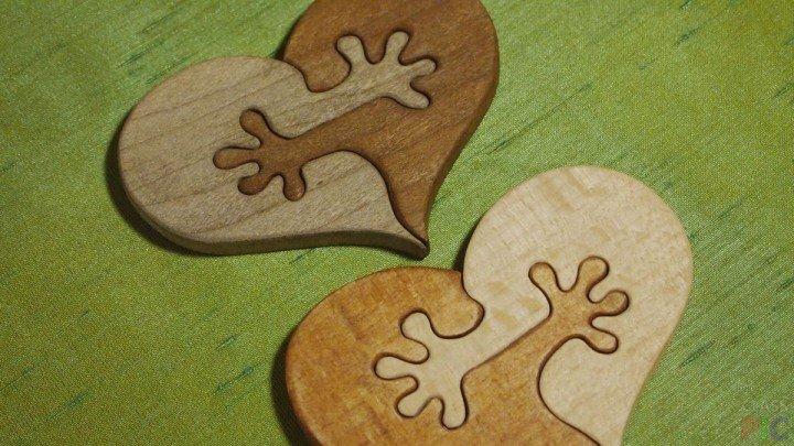 Heart Puzzle Decor Free CDR Vectors Art