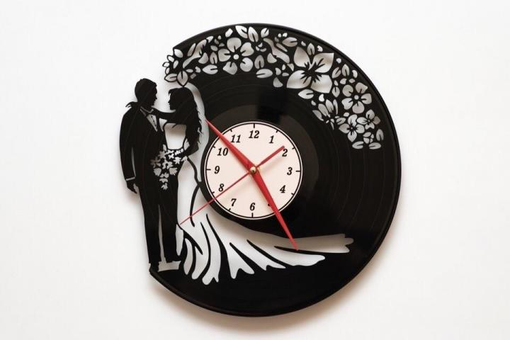 Laser Cut Wedding Watches Free DXF File