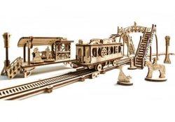 Laser Cut Beautiful Train Model Free CDR Vectors Art