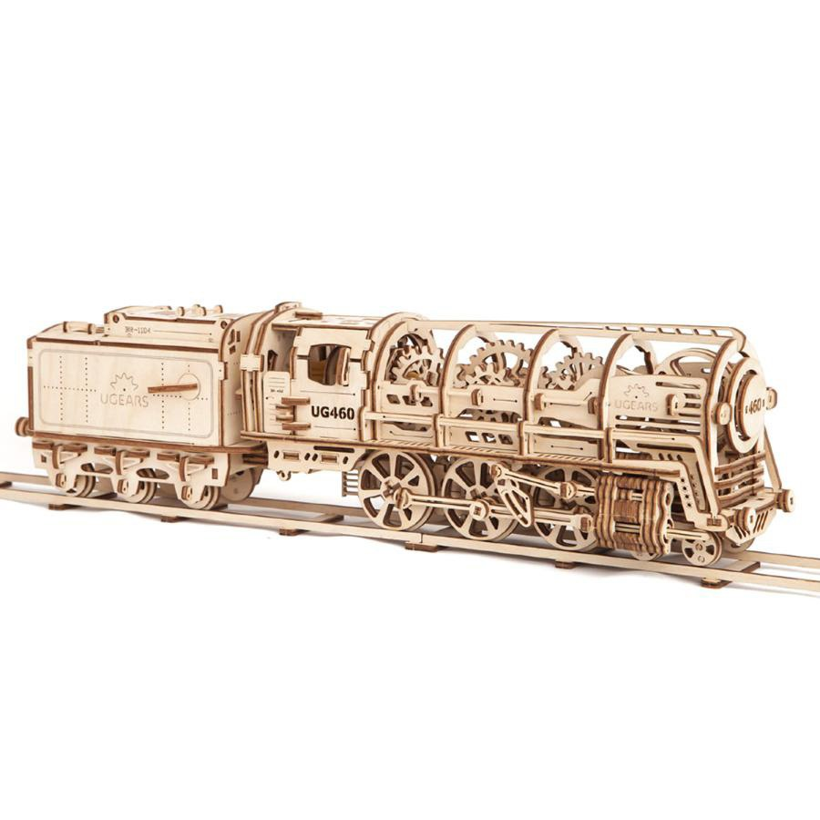 Drawings Of A Locomotive For Cnc Laser Cutting Of A Plywood Constructor Free CDR Vectors Art