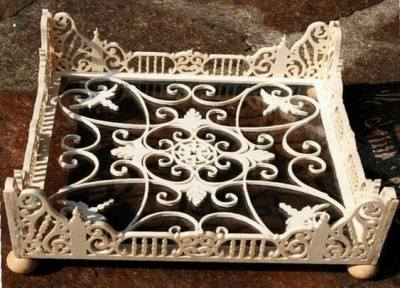 Decorative Frame Tray Stand Laser Cut Free CDR Vectors Art
