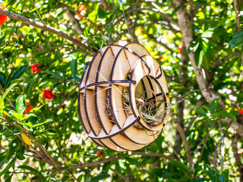 Laser Cut Bird House Plans Template Free PDF File
