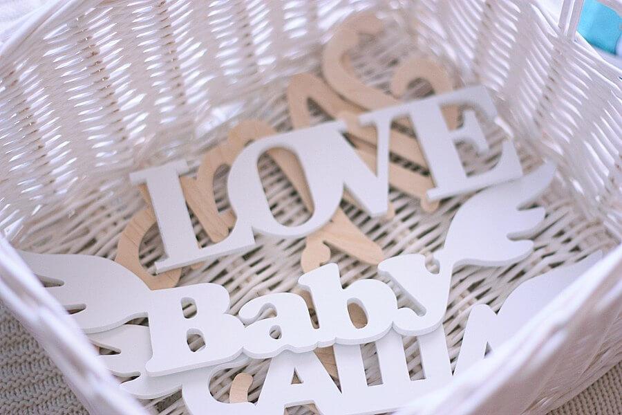 Alphabet Love Baby Free CDR Vectors Art