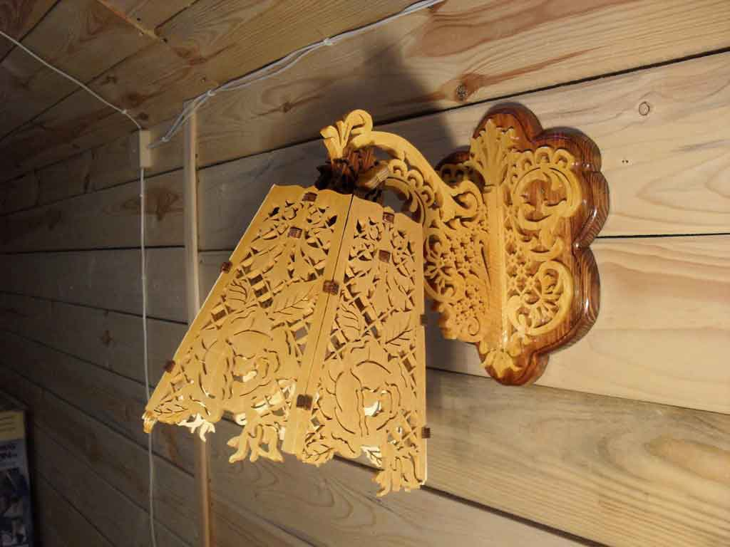 Laser Cut Wooden Decorative Lamp Free PDF File