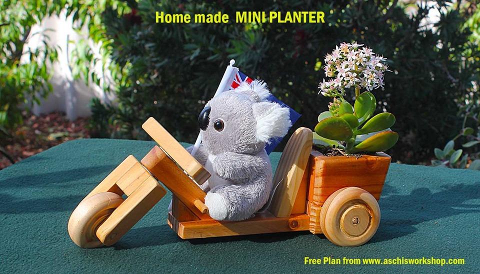 fun-o-trike Wooden Toy Template Free PDF File