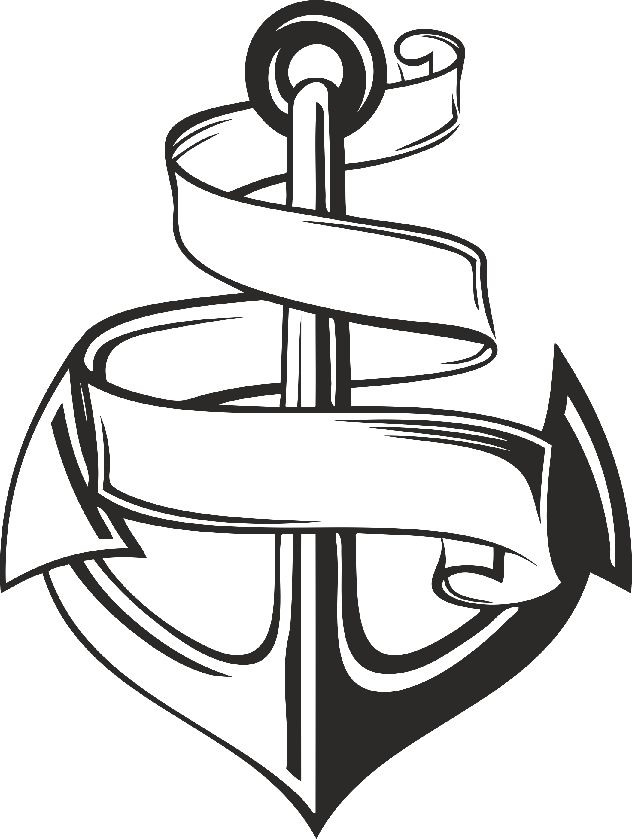 Collection of vector anchors 02 Free Download Free DXF File