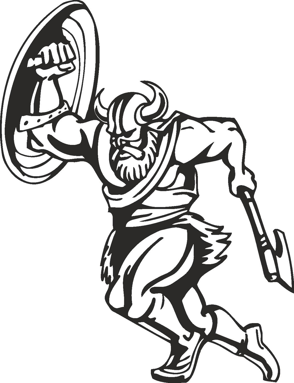 Warriors Vikings Vector 17 Free DXF File
