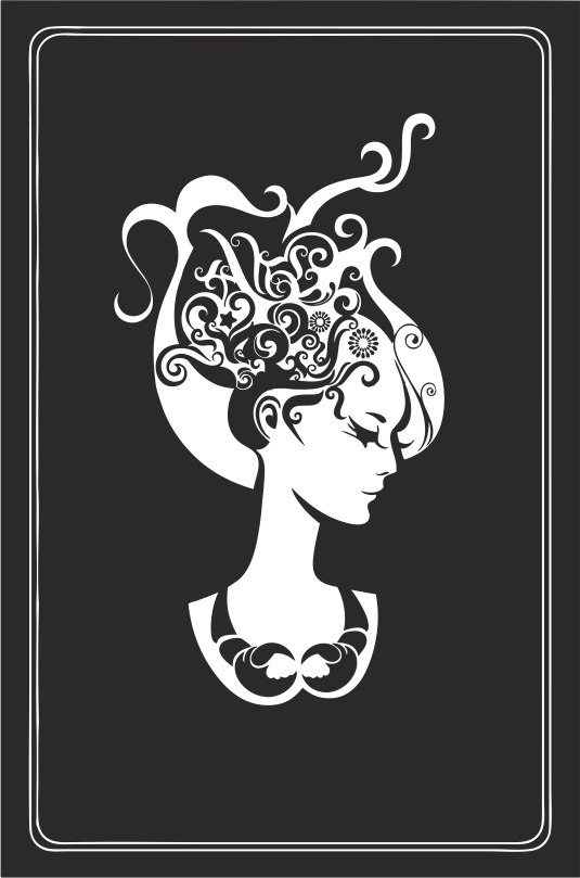 Zodiac Signs In The Form Of Female Busts 10 Free DXF File