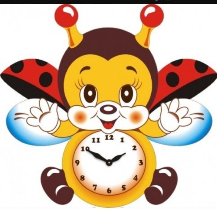 Laser Cut Bee Clock For Kids Room Template Free CDR Vectors Art