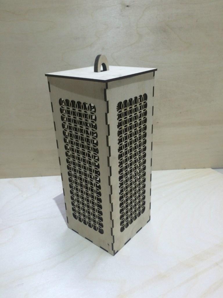Casket Box Cnc Laser Cutting Free CDR Vectors Art
