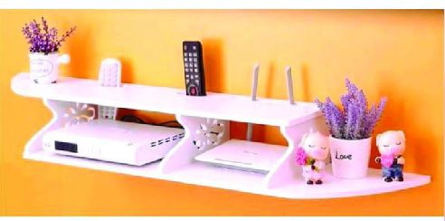 Laser Cut Shelf For Tv Set Top Boxes And Wifi Free CDR Vectors Art