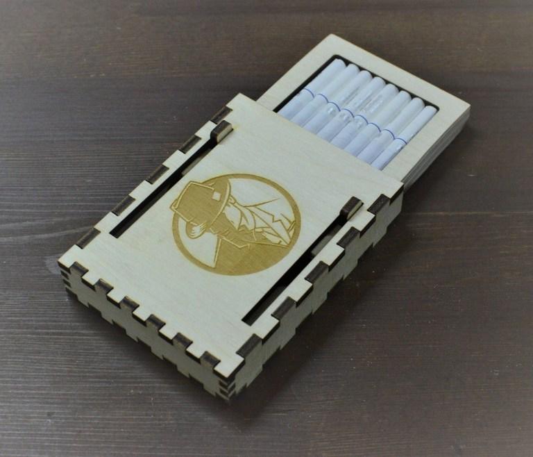 Wooden Cigrete Box Cnc Free CDR Vectors Art