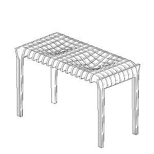 Laser Cut Parametric Table Free CDR Vectors Art