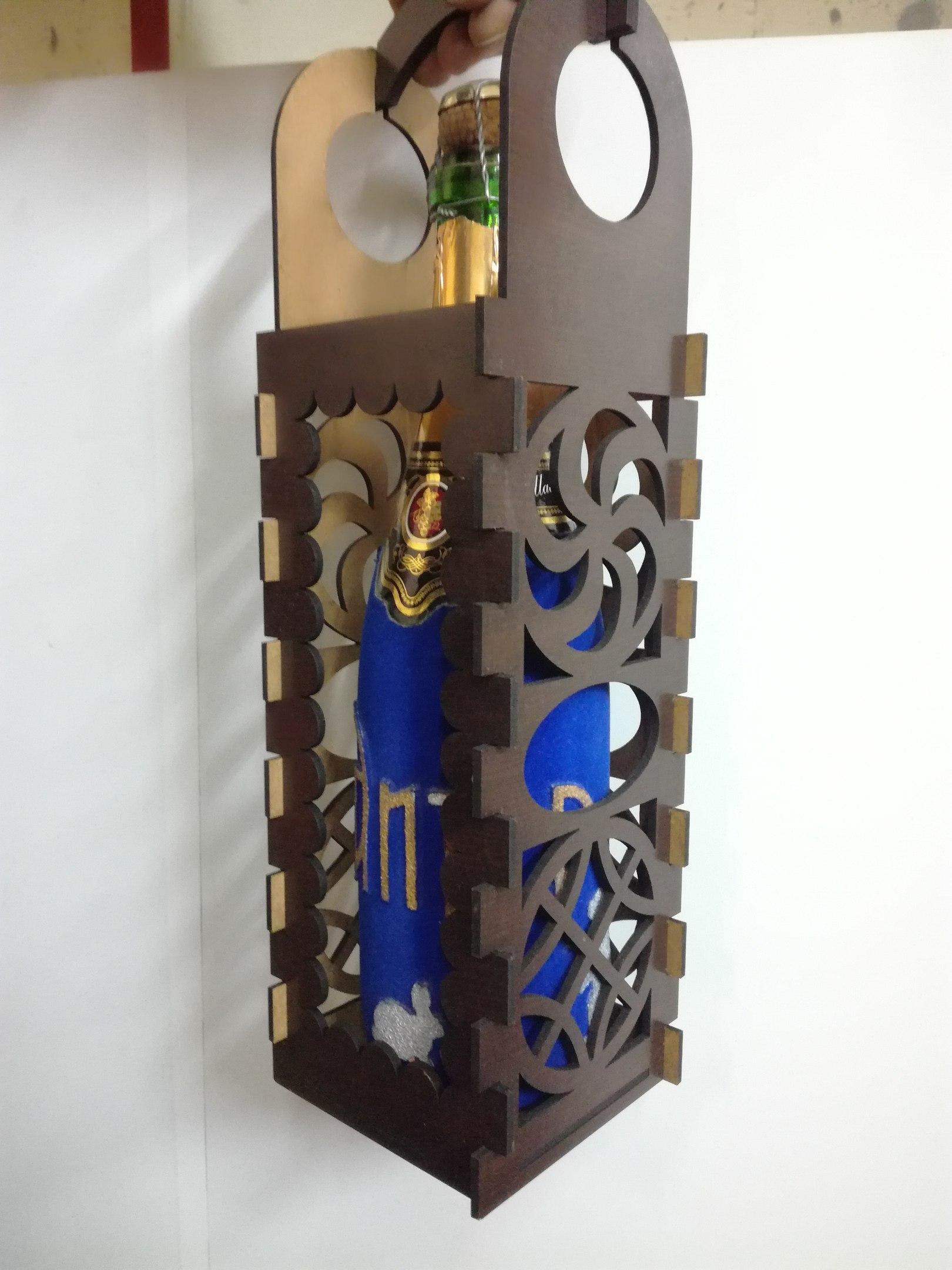 Korobka Pod Shampanskoe Box Free CDR Vectors Art