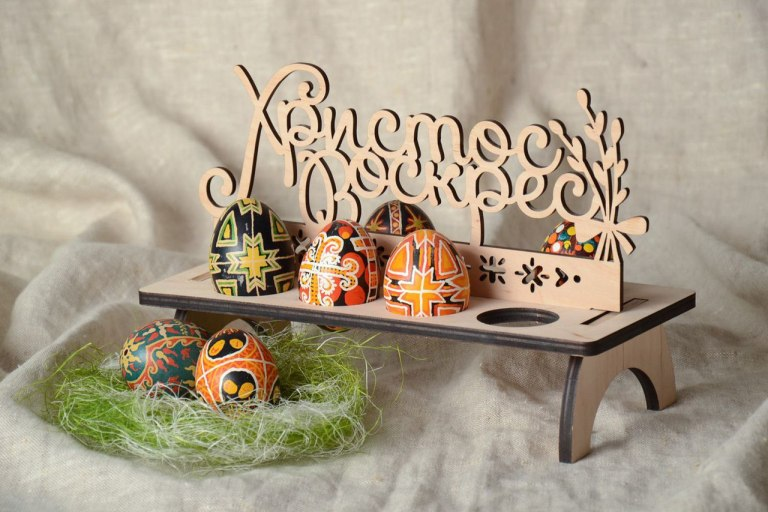 Laser Cut Egg Easter Free CDR Vectors Art
