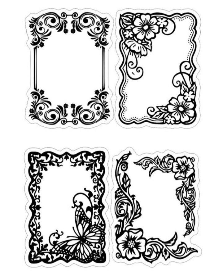 Floral Frames Free CDR Vectors Art