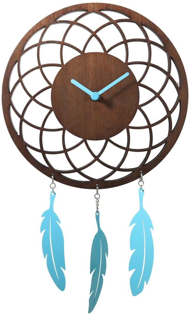 Dream Catcher Clock Free CDR Vectors Art
