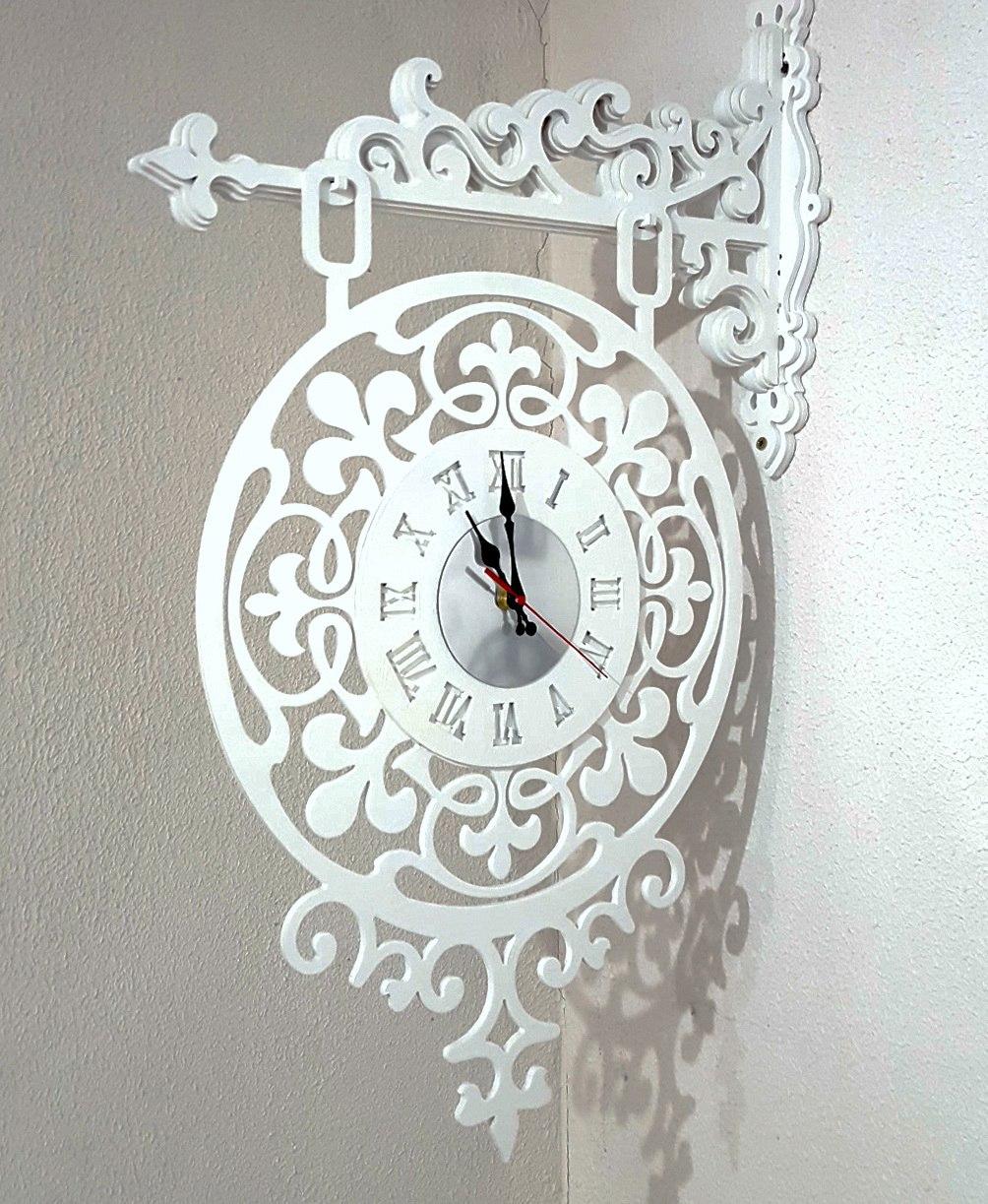 Laser Cut Clock Console Free CDR Vectors Art