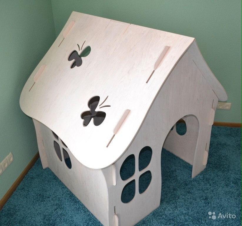 House 3d Puzzle For Laser Cut Free CDR Vectors Art