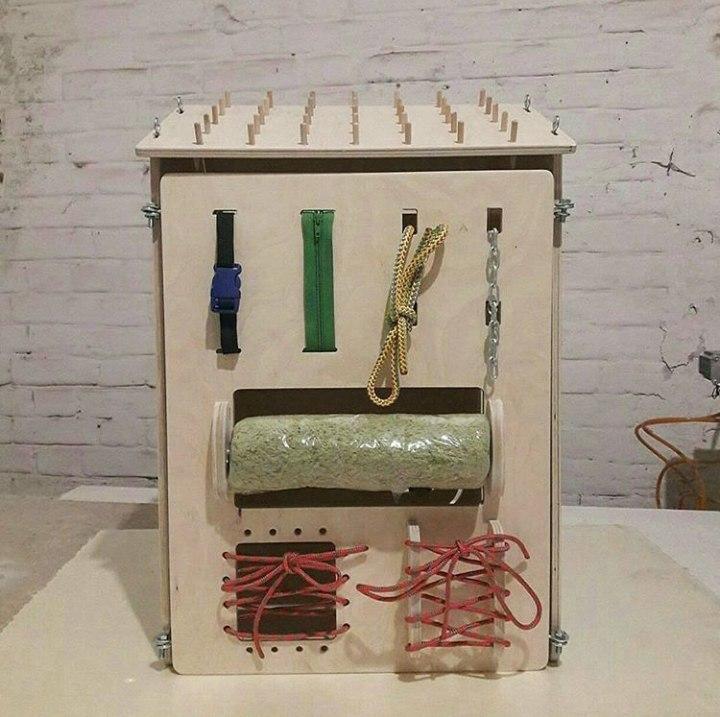 Laser Cut Wooden Educational Material Lock Latch Box Free CDR Vectors Art