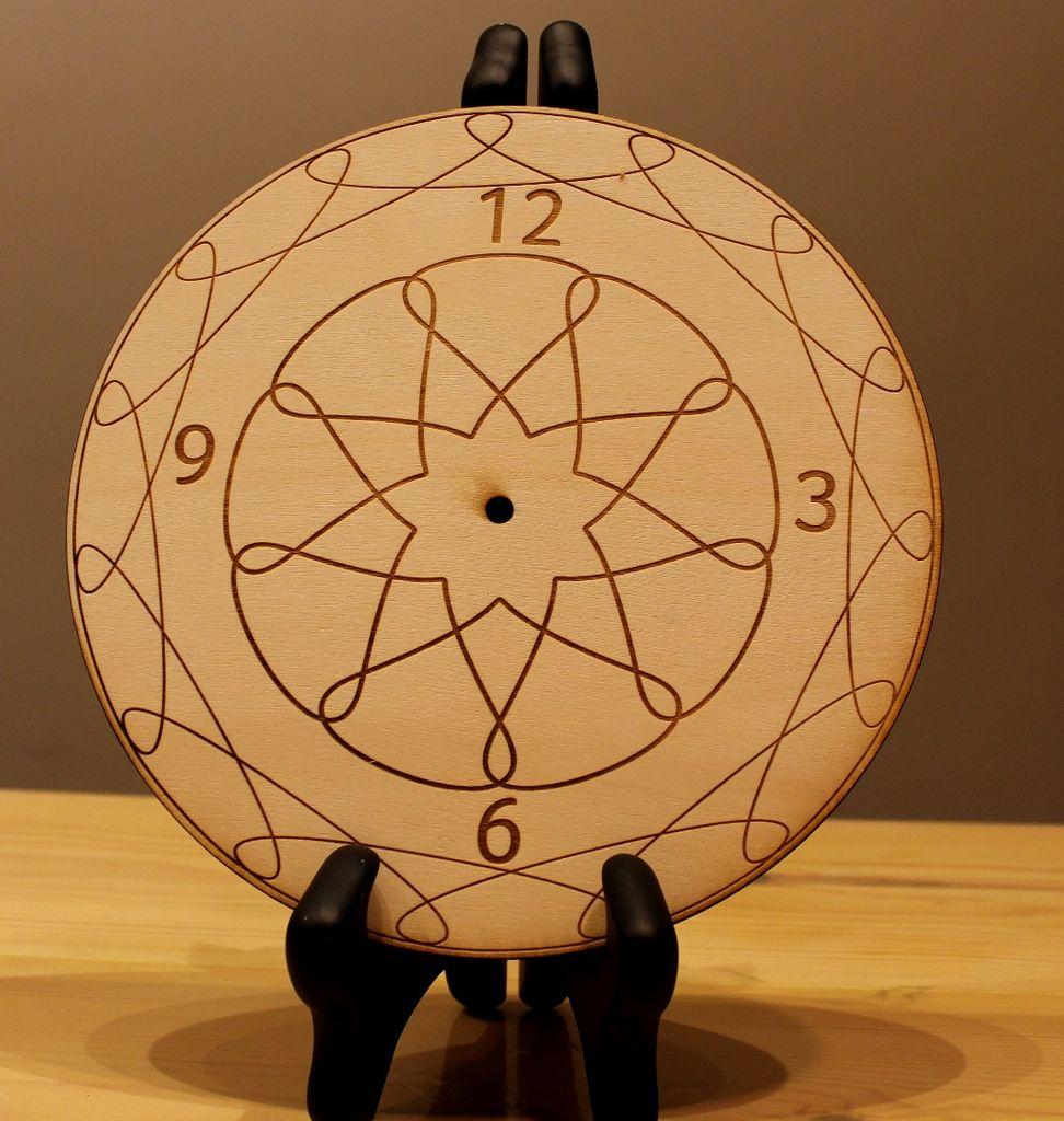 Wall Clocks Plans Diy For Laser Cut Free CDR Vectors Art