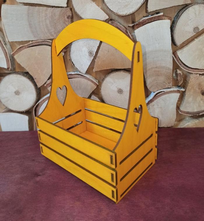 Wooden Box Napkin Holder Basket For Laser Cut Free CDR Vectors Art