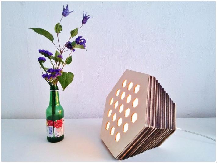 Laser Cut Lamp Egoist Free CDR Vectors Art