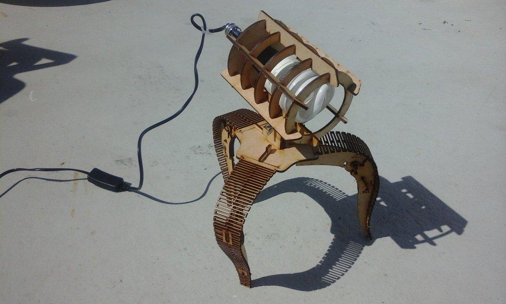 Laser Cut Lamp Final To Print Free CDR Vectors Art