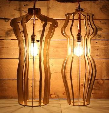 Laser Cut Night Light Lamps Free CDR Vectors Art