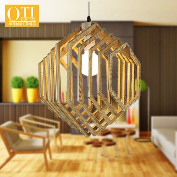 Pendant Hang Lamp Plywood For Laser Cutting Free CDR Vectors Art
